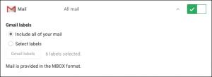 cancellare account google e gmail - step 1