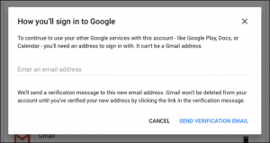 cancellare account google e gmail - step 4