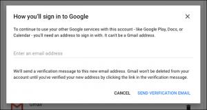 cancellare account google e gmail - step 4