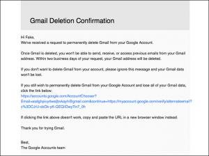 cancellare account google e gmail - step 5