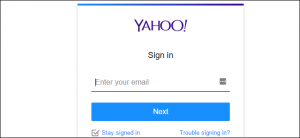 cancellare account yahoo mail - step 1