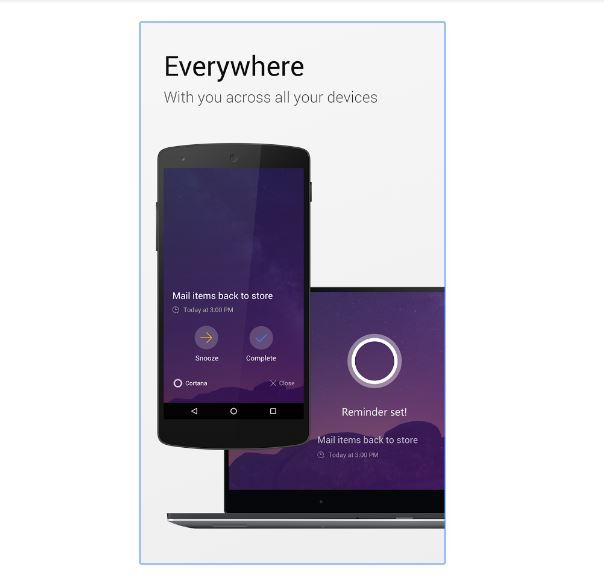come impostare Cortana su smartphone Android