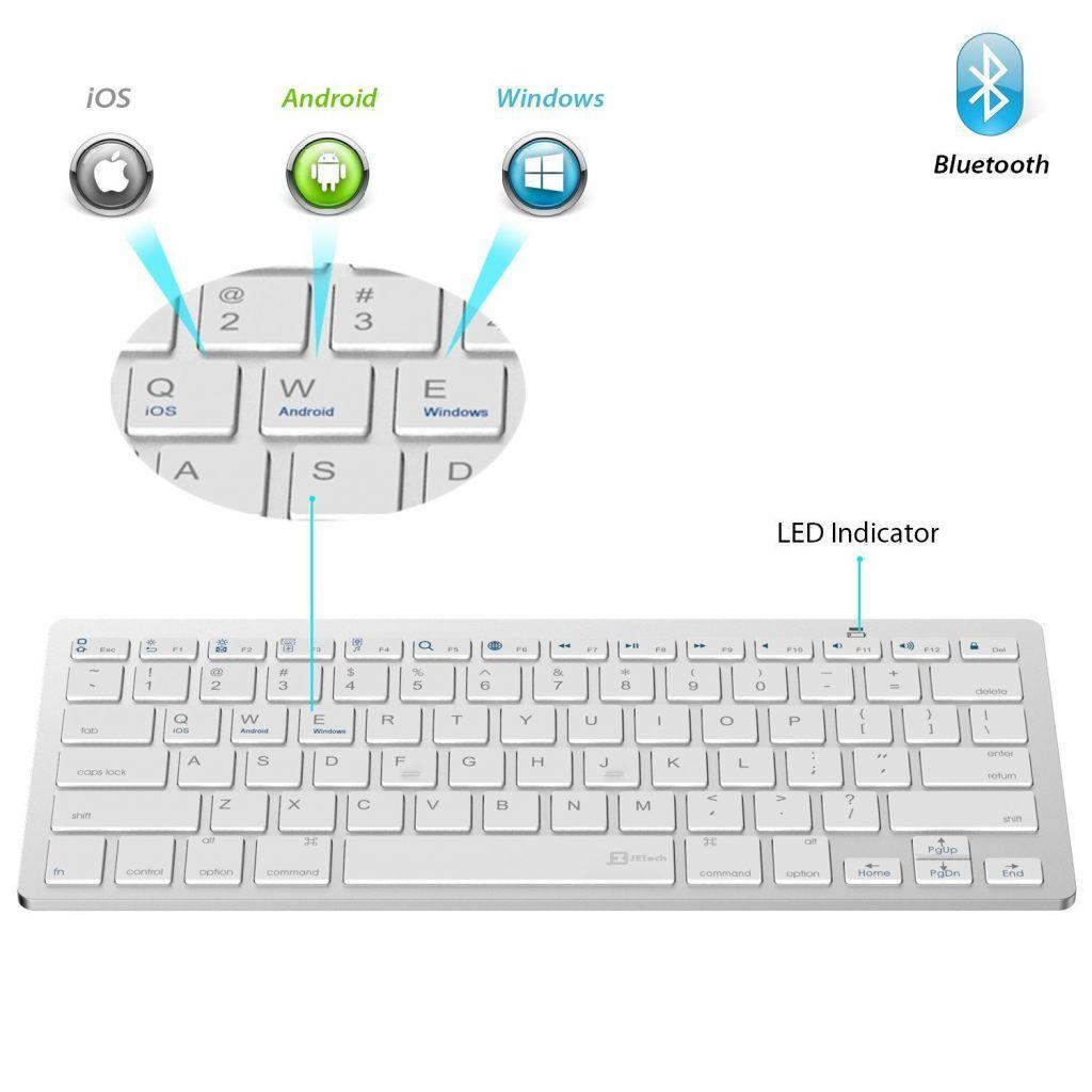 JETech ricompare per la seconda volta nella nostra lista con la tastiera per tablet più economica tra quelle proposte.