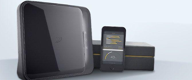 Il vuovo Modem FastGate di Fastweb con la sua confezione