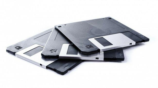 sicurezza online -floppy backup
