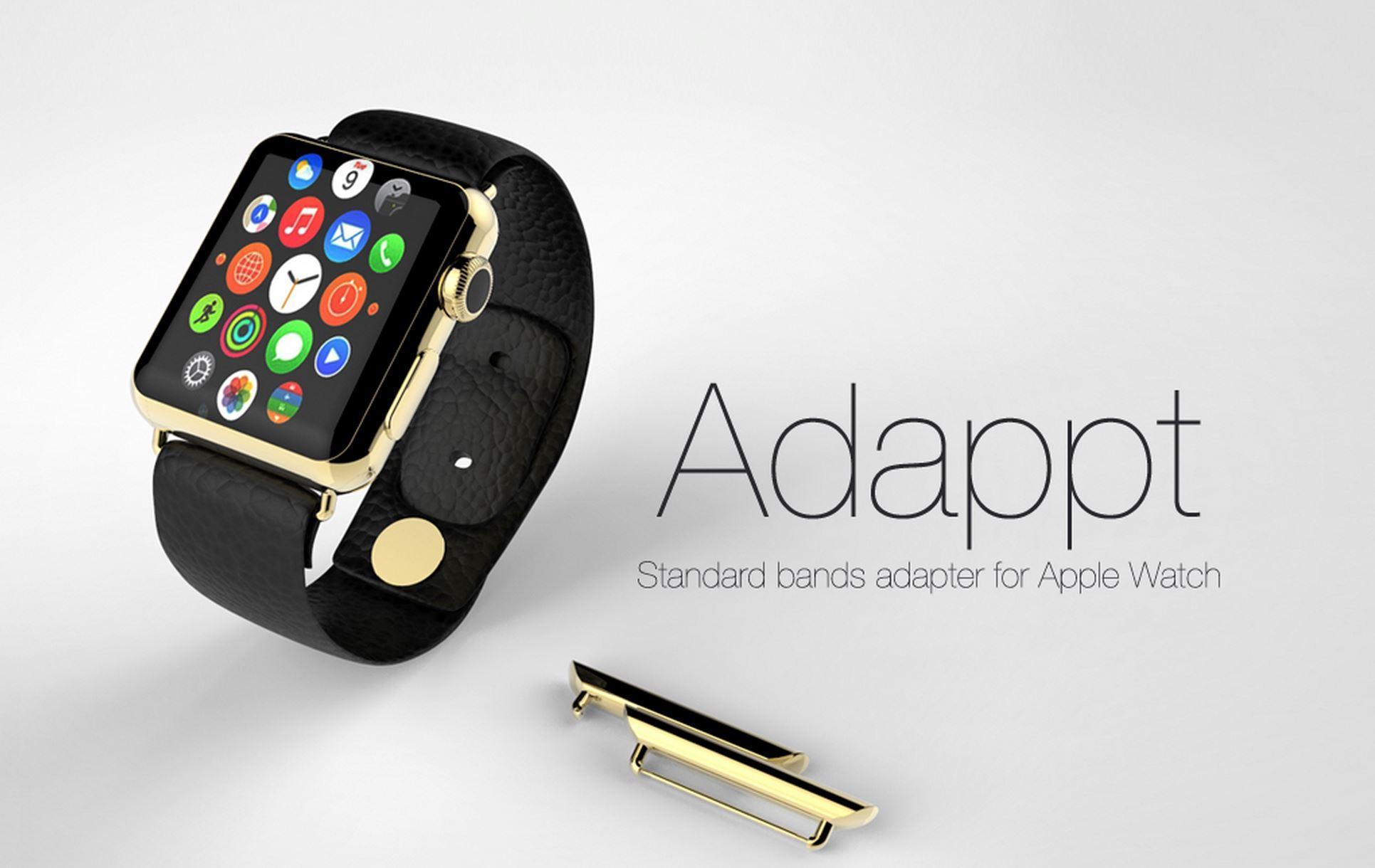 Adappt: il rivoluzionario adattatore per cinturini di Apple Watch
