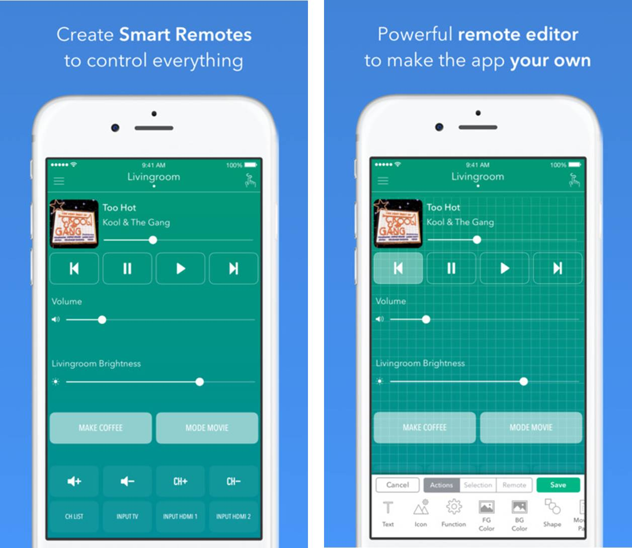 Anymote – Smart Remote migliori app telecomando universale iPhone e Android