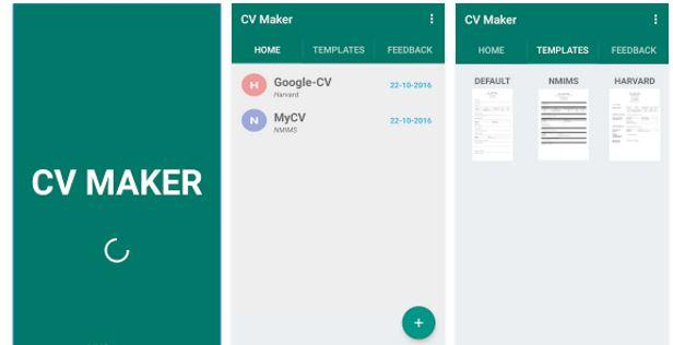 CV Maker migliori app per curriculum iPhone e Android