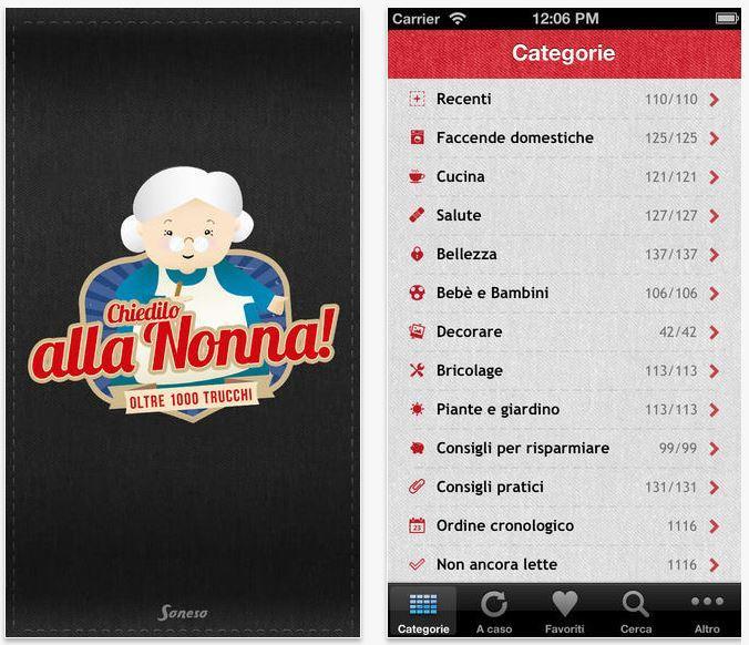 Chiedilo alla nonna migliori app per cucinare iPhone e Android