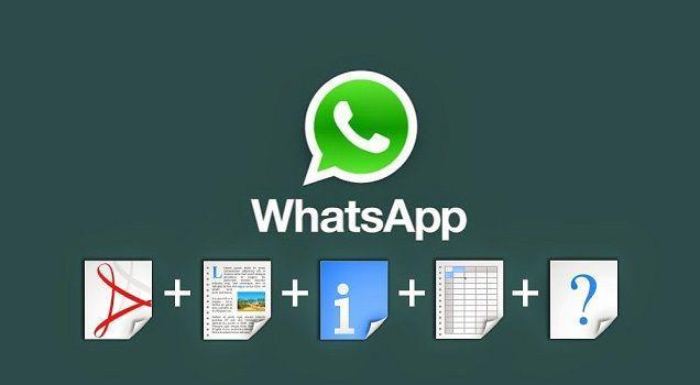Come condividere File ZIP, PDF, APK, RAR, EXE e altri file di grandi dimensioni su Whatsapp