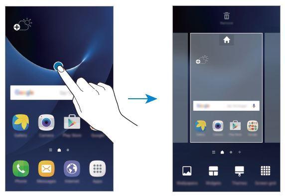Come ordinare le applicazioni sulla Home su Galaxy S7