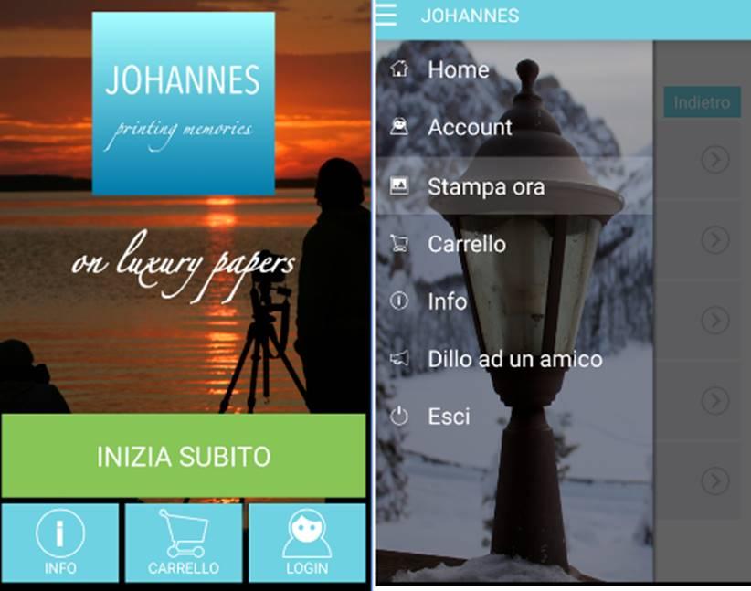 Johannes migliori app per stampare foto iPhone e Android