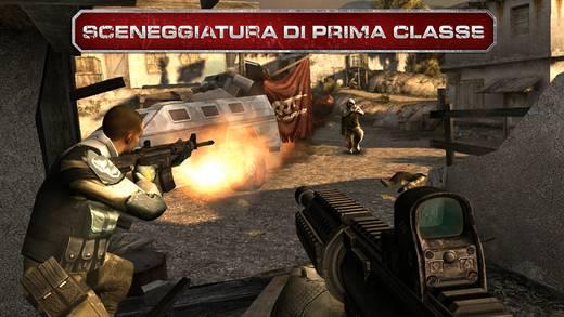 Modern Combat 3 migliori giochi di guerra iPhone e Android