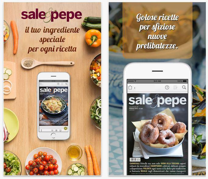 Sale&Pepe migliori app per cucinare iPhone e Android