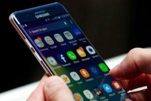 Samsung S7 Nougat batteria