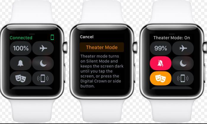 Theater Mode su Apple Watch