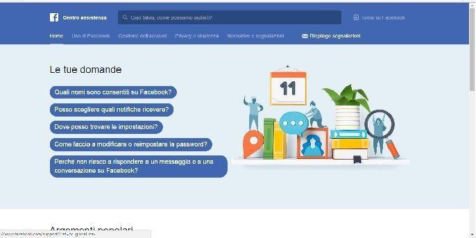eliminare profilo facebook
