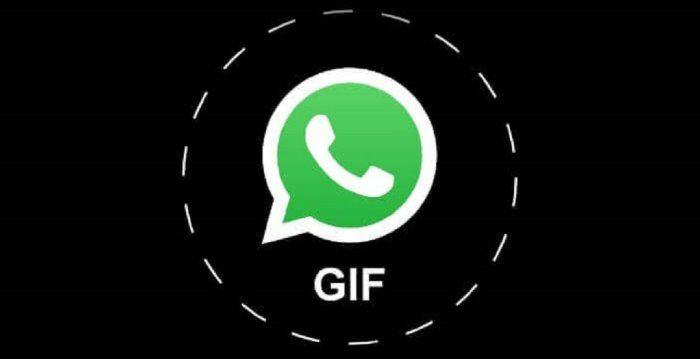 whatsapp come mandare gif animate