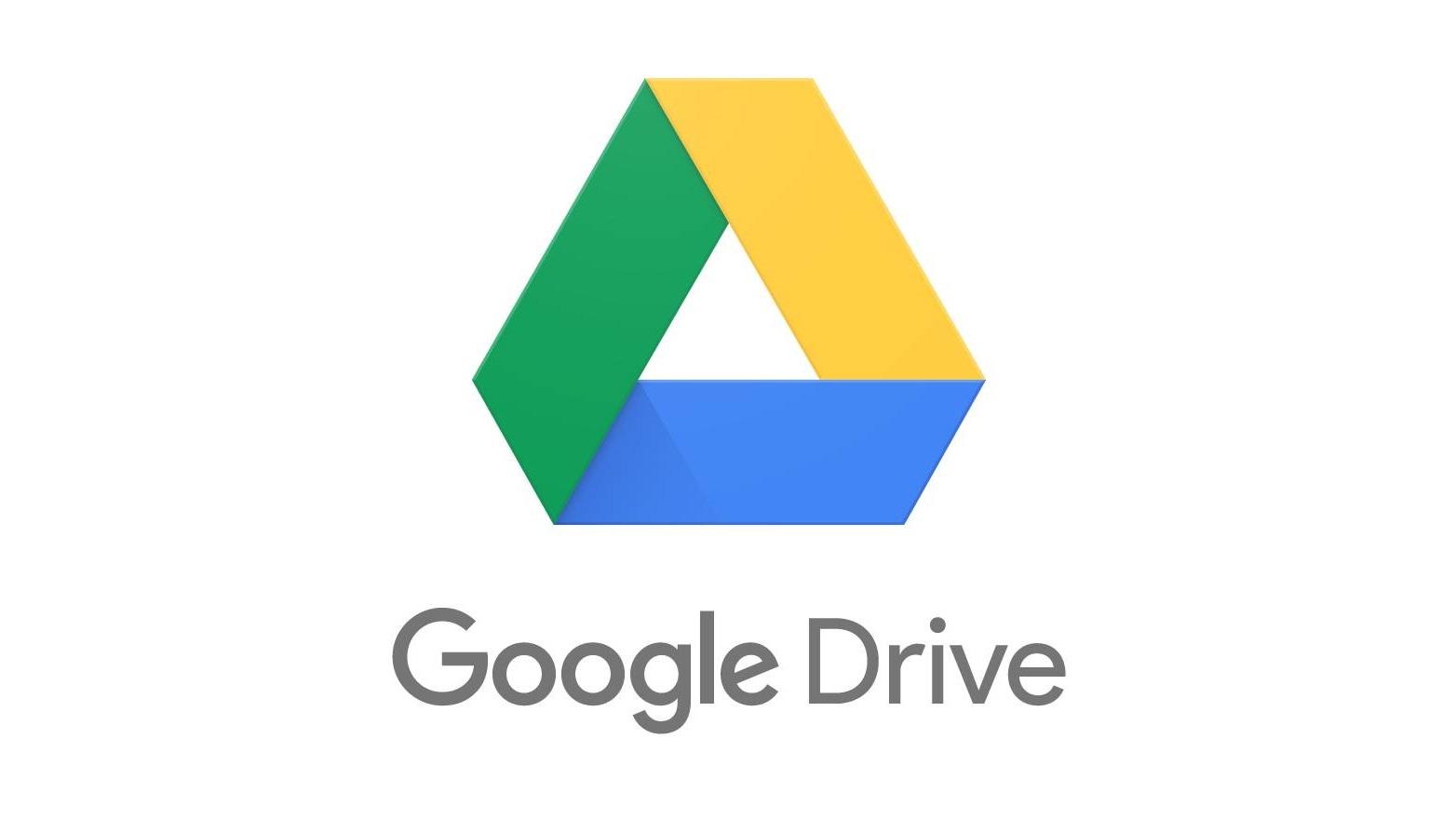 Il logo di Google Drive, un celebre cloud storage