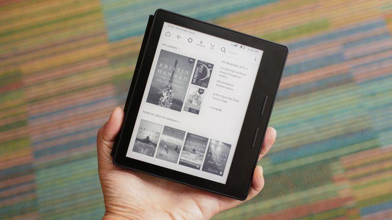 10 migliori ebook reader - Amazon Kindle Oasis