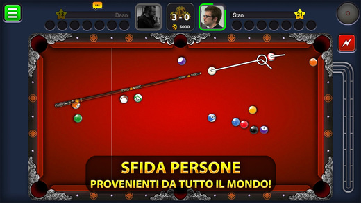 8 Ball Pool migliori giochi da biliardo iPhone e Android