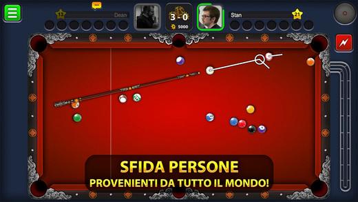 8 Ball Pool migliori giochi da biliardo iPhone e Android