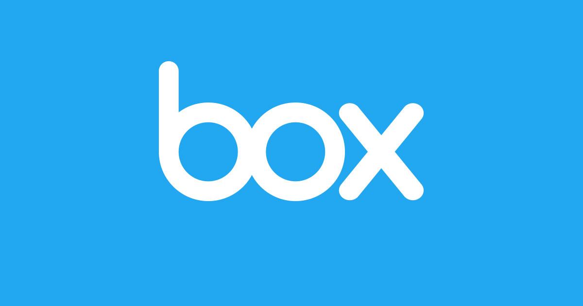 Il logo di Box, un cloud storage