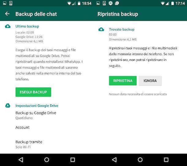 Come trasferire le chat di Whatsapp