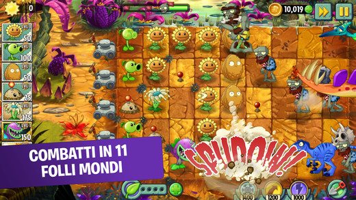 Plants vs Zombies 2 migliori giochi strategia iPhone Android