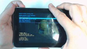 Reset Galaxy Tab