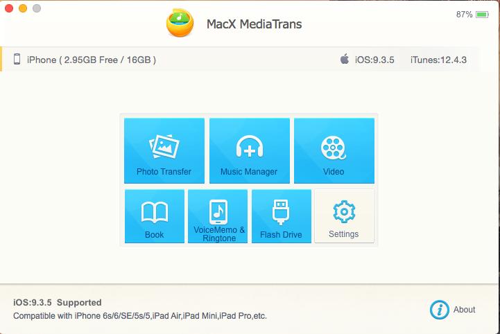 MacX MediaTrans, il tool più veloce per trasferire dati su iPhone