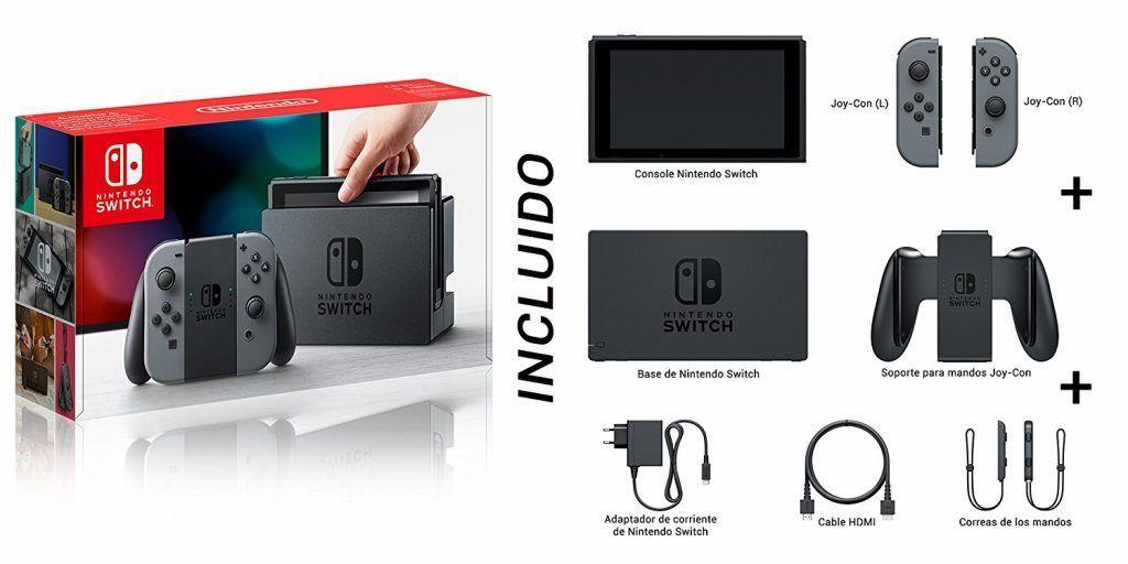 recensione nintendo switch - contenuto confezione