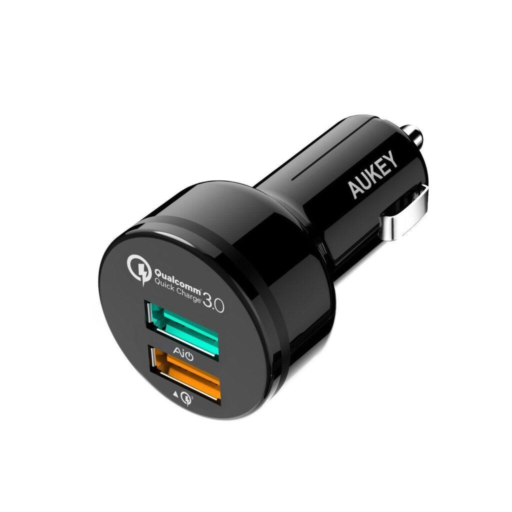 AUKEY Quick Charge 3.0 Caricatore per auto
