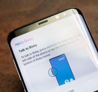 Bixby per catturare uno screenshot su Samsung Galaxy S8 e Galaxy S8+