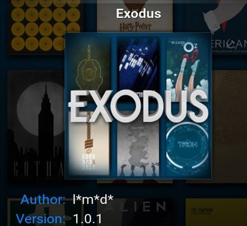 Exodus è per netto distacco il componente addizionale di Kodi più diffuso, grazie a un eccellente catalogo e a un'ottima qualità video