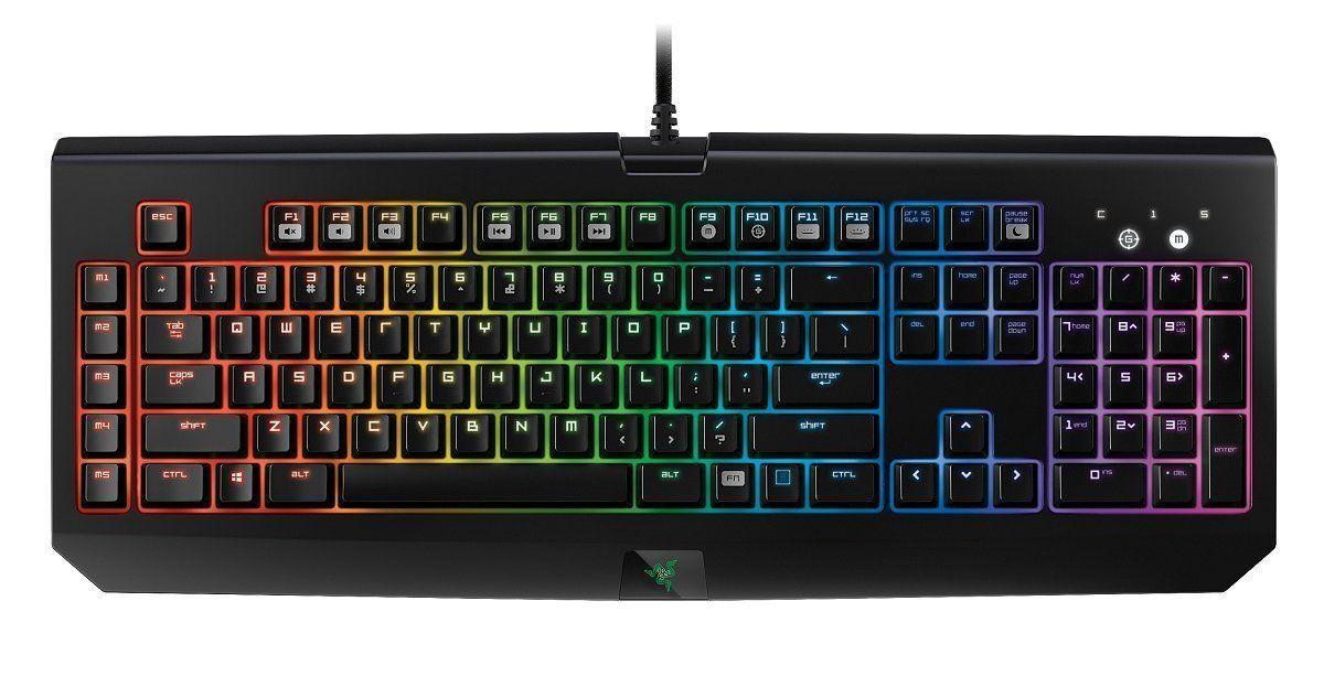 Miglior tastiera meccanica da gaming di design Razer BlackWidow Chroma_4