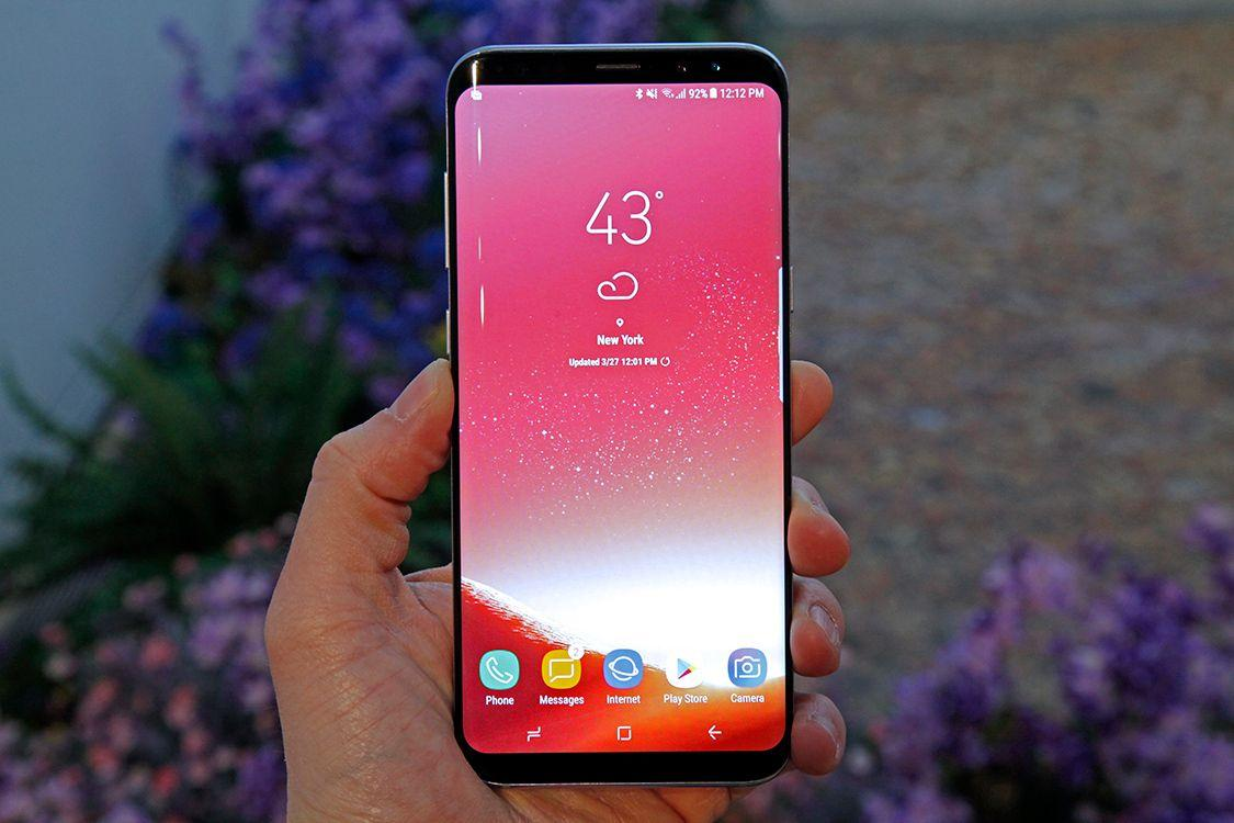 Come catturare uno screenshot su  Samsung Galaxy S8 e Galaxy S8+