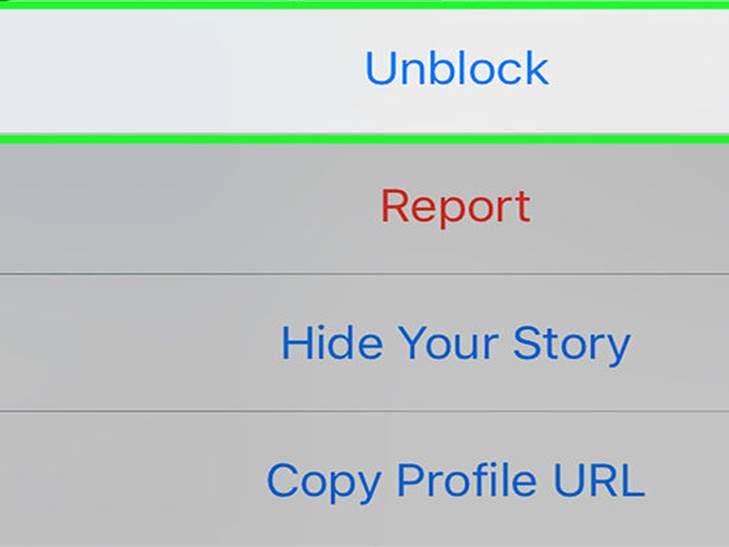 come sbloccare il profilo Instagram