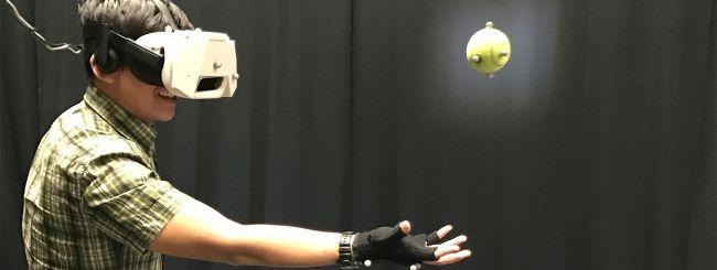 Realtà virtuale, Disney vuole integrare gli oggetti reali