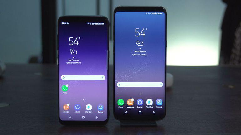 utilizzare Samsung Galaxy S8 e Galaxy S8 Plus con una mano