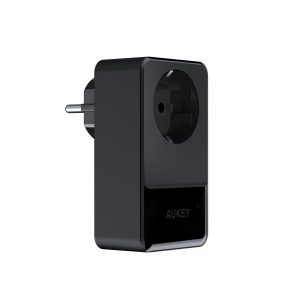 AUKEY Caricabatterie USB 5V 2.4A 4 Presa USB con spina 16A