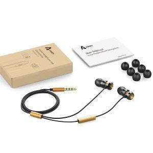 AUKEY auricolari In-Ear EP-C2-IT_contenuto confezione