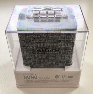 Creative Nuno Micro scatola