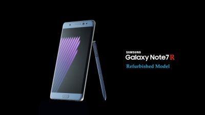 Galaxy Note 7 ricondizionato