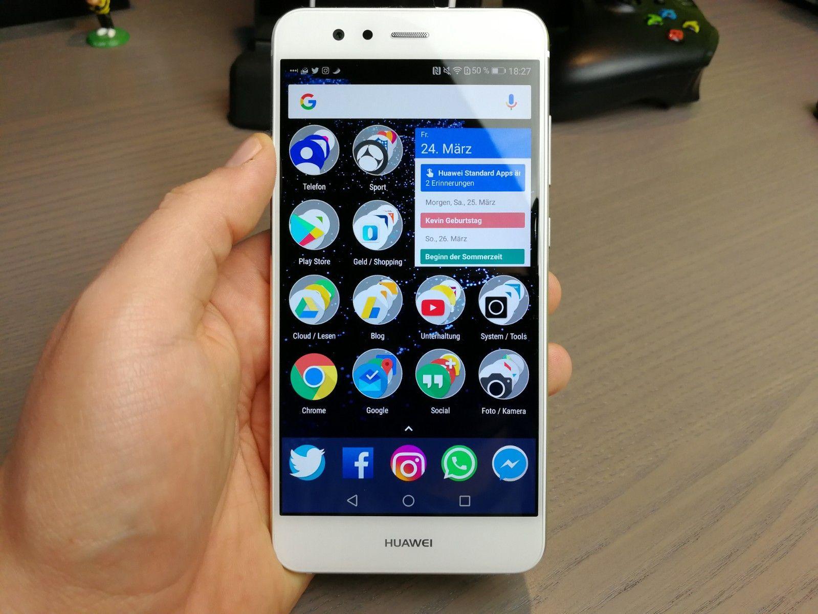 Huawei P10: il cerchio con punto esclamativo nella barra di stato