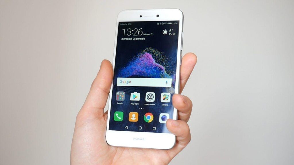 Huawei P8 Lite 2017 creare nuova cartella