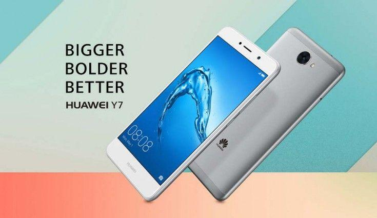 Huawei Y7, annunciato un nuovo smartphone entry-level Android