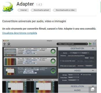 trasformare un video in avi