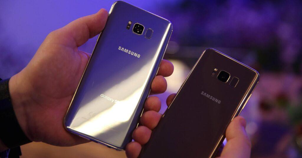 copia e incolla su Samsung Galaxy S8