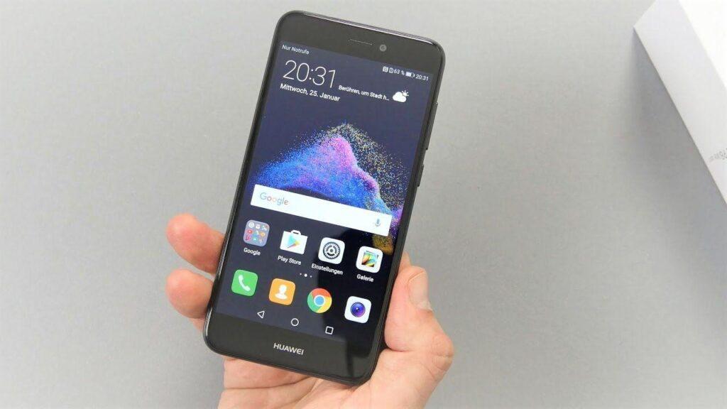 inserire l'impronta digitale su Huawei P8 Lite 2017